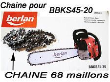 chaine  TRONCONNEUSE  BERLAN BBKS-20 .. 68 maillons OREGON TYMEKA piece