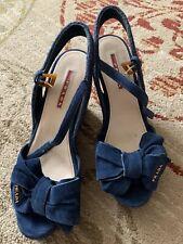 prada wedge sandals Size 7