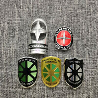 2pcs Vintage dahon Bicycle Head Badge Tag Bike Emblem Decals Stickers emblem