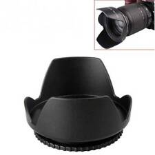 55mm Lens Hood Screw Mount Petal Crown Flower Shape for Canon Nikon Sony Pentax