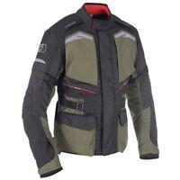 Oxford Quebec 1.0 Waterproof Adventure Motorcycle Motorbike Jacket Army Green