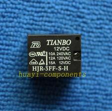 2pcs HJR-3FF-S-H 12VDC 10A 240VAC T73 4pins 12V TIANBO Relay