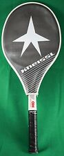 Kneissl White Star Mid Tennis Racquet w/ Cover 4 5/8 New Grip Made in Austria