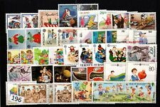 /// WHOLESALE 1989 - MNH - CHILDREN - EUROPA CEPT - 43 STAMPS