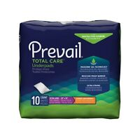 Underpad Prevail Super, 30 X 30 Inch, Heavy Absorbency, UP-100 - Pack of 10