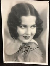 Mary Brian Portrait By Gene Robert Richee With Signature 7 X 5""