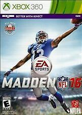 Madden NFL 16 (Microsoft Xbox 360, 2015)