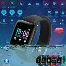 Sport Watch Bluetooth Oxygen Smart Blood Pressure Fitness Heart Rate Tracker