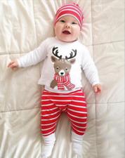 ** ** Entrega de Navidad Navidad Reno Pyjamas Set ** últimos restante