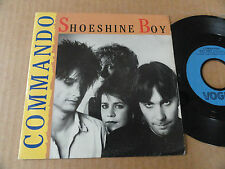 "DISQUE 45T DE COMMANDO  "" SHOESHINE BOY """