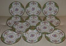 SHELLEY SHERATON GREEN #13290 Dinner Plate (SELL INDIVIDUALLY)