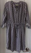 NWT NEW  ANN TAYLOR LOFT FACTORY DRESS BLACK / WHITE  MEDIUM  $79.99