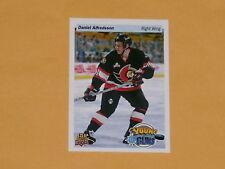 2014-15 UpperDeck 25th Anniversary Hockey Card # UD25-DA Daniel Alfredsson