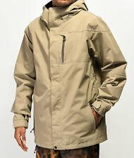 2020 Volcom L Insulated Gore-Tex Jacket Khaki Men's Large