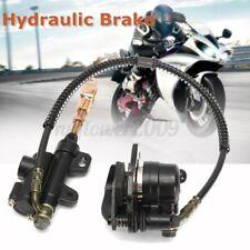 Hydraulic Rear Disc Brake Caliper System For 110cc 125cc PIT Quad Dirt Bike ATV