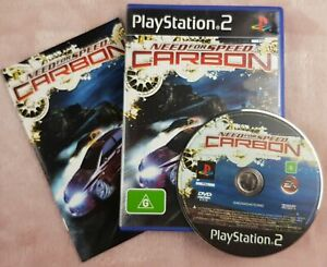 Need for Speed Carbon for Sony PS2 - AUS PAL - Great Disc & Warranty