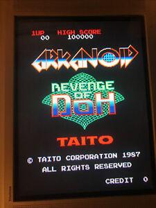 Arkanoid Revenge Of Doh , Pcb Jamma Original Taito