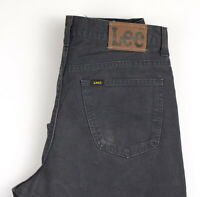 Lee Hommes Kansas Droit Jambe Slim Jean Taille W34 L32 APZ390