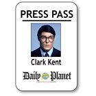 CLARK KENT NAME BADGE HALLOWEEN COSTUME PROP FOR SUPERMAN PRESS PASS PIN BACK