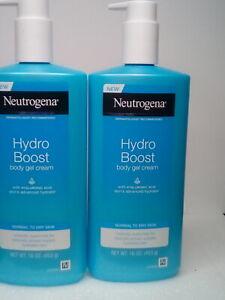 Neutrogena Hydro Boost Body Gel Cream 16 oz for Normal to Dry Skin w/Hyaluronic