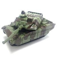 Green Tank Cannon Model Miniature 3D Toy Hobbies Kids Educational Gift OGVUSJUS