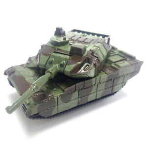Green Tank Cannon Military Model Miniature 3D  Kids Educational Toy Gift,AU