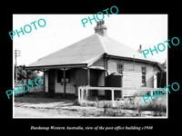 OLD LARGE HISTORIC PHOTO OF DARDANUP WESTERN AUSTRALIA, THE POST OFFICE c1940