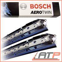 2x BOSCH WIPER BLADE AEROTWIN AUDI A4 8E 8H B6 B7+AVANT ESTATE+CONVERTIBLE 03-09