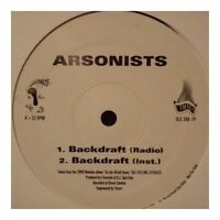 "The Arsonists Backdraft / Halloween I 12"" VINYL Matador 1999"