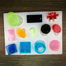 DIY Silicone Mold Resin Jewelry Making Maker Mould Epoxy Pendant Craft Mould