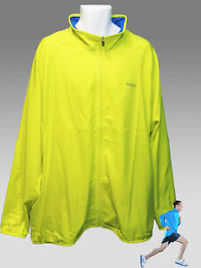 REEBOK PlayDRY Running Cycling Track Jacket Yellow XXL