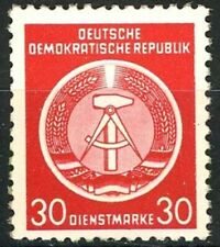 Germany DDR 1954 30 pf Brown Red Official Stamp MNH Scott's O11