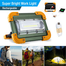 900000lm COB LED Work Light Rechargeable Inspection Flashlight Flood Lamp stand