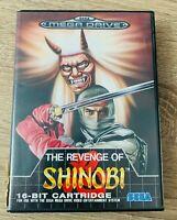 THE REVENGE OF SHINOBI  - Completo caja y manual - Juego SEGA Mega Drive PAL ESP