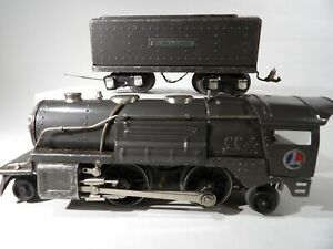 Lionel O 259E Steam loco 2-4-2 & tender # 259E