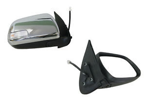 FOR TOYOTA HILUX SR5 7/11-9/15 CHROME ELECTRIC DOOR MIRROR LED FLASHER - RH SIDE