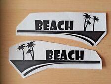 Motorhome,Caravan Beach, surf ,Car,Van,Window,Vinyl graphics/sticker/Decal
