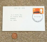 1966 FDC Envelope British Postage Stamp 6d by D.Gillespie