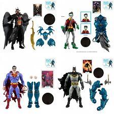 """McFarlane Toys DC Multiverse 7"""" Merciless BAF Collector Wave 2 Complete Set"""