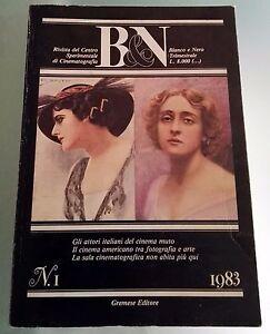 Bianco e Nero Trimestrale n.1 1983 Rivista Cinematografia