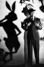 "New 5x7 Photo: James ""Jimmy"" Stewart with Harvey the Rabbit, ""Harvey"" 1950"
