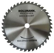 Holzmann Hartmetall Sägeblatt 305x30 mit 40 Zähnen passend für KAP 305JL