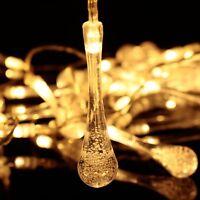 10/20 LED String Fairy Lights Xmas Party Garden Wedding Home Lamp Garland Decor