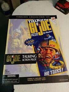 TALKING G.I. JOE TIMELESS COLLECTION III ACTION PILOT- Hasbro