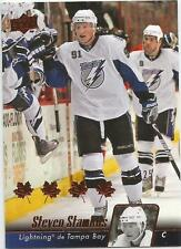 2010-11 UD Red #21 Steven Stamkos 9/25 French Tampa Bay Lightning