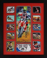 Chad Reed Limited Edition Framed Signed Memorabilia (R)