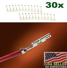 (30 PCS) Molex 5556 Mini Fit Jr Female Pins 39-00-0038 - ATX EPS PCI-E PCIE -