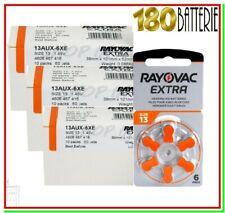 batterie per apparecchi acustici 13 rayovac extra 180 pile per protesi