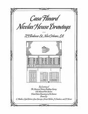 Casa Flinard House Drawings, New Orleans - Architectural House Plans