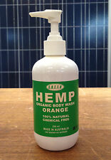 Hemp Body Wash With Pump 250ml G.R.E.E.N Hemp Body Wash Pump Made in Australia